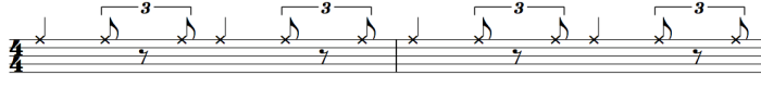 Jazz Ride Cymbal Pattern